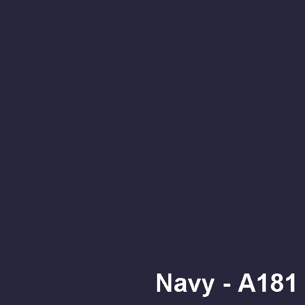 Dyed Colour - Blue Navy