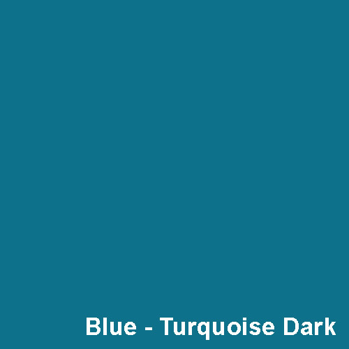 Dyed Colour - Blue Turquoise Dark P2654