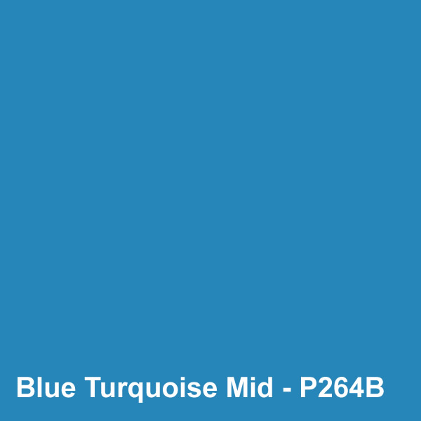 Dyed Colour - Blue Turquoise Mid