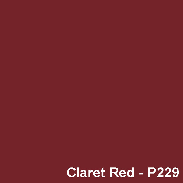 Dyed Colour - Claret Red P229I