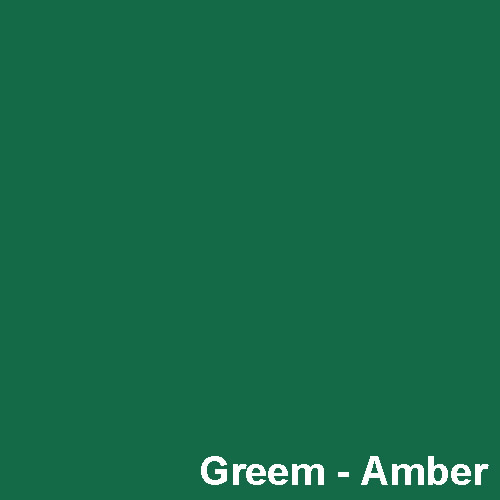 Dyed Colour - Green Amber P212