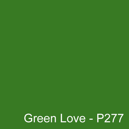Dyed Colour - Green Love