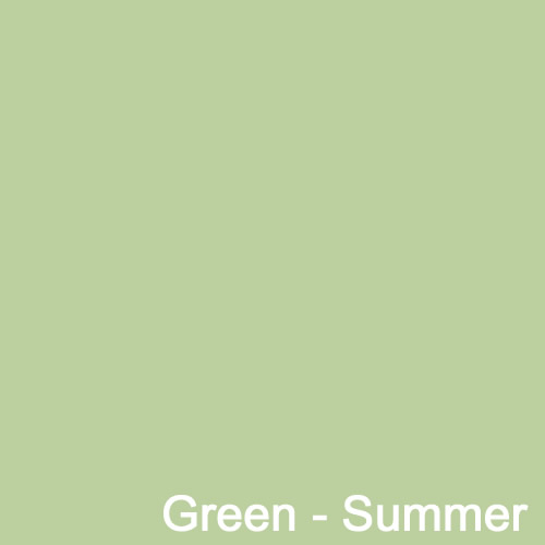 Dyed Colour - Green Summer A123