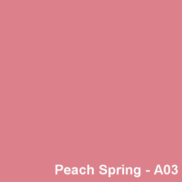 Dyed Colour - Peach Spring A03
