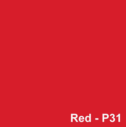 Dyed Colour - Red P31