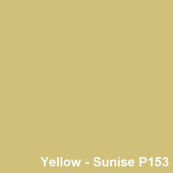 Dyed Colour - Yellow Sunrise P153