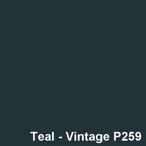Dyed Colour - Teal Vintage P259