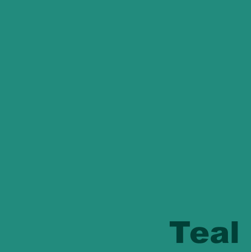 Dyed Colour - Teal A138
