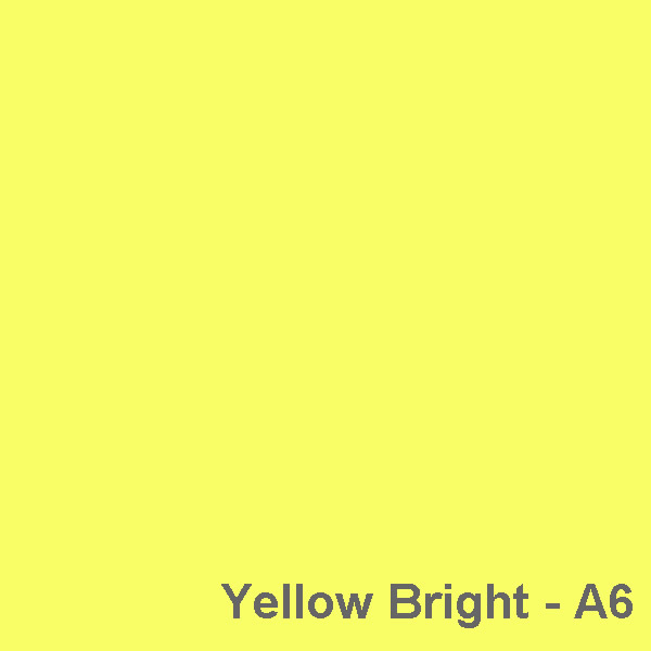 Dyed Colour - Yellow Bright A6